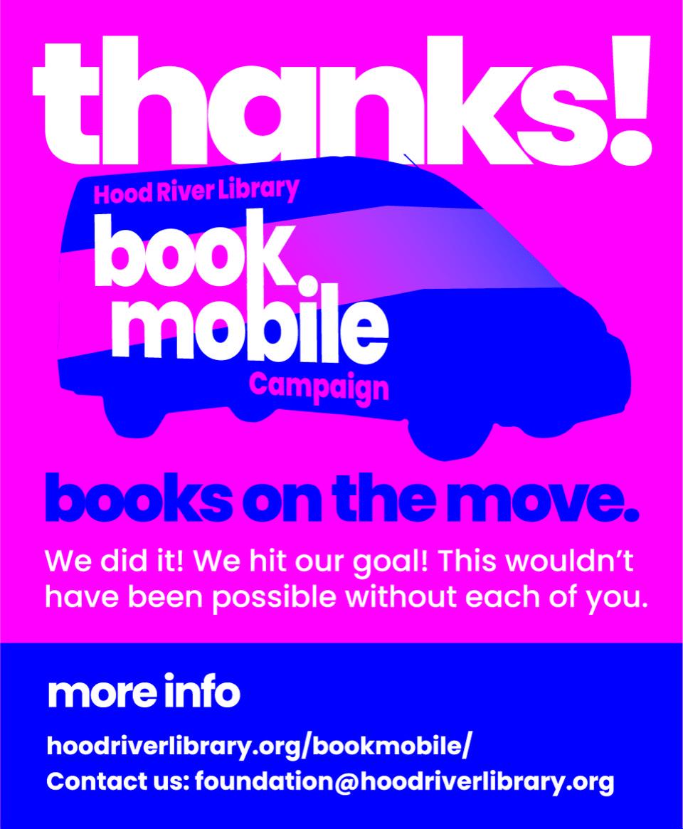 Bookmobile thank you