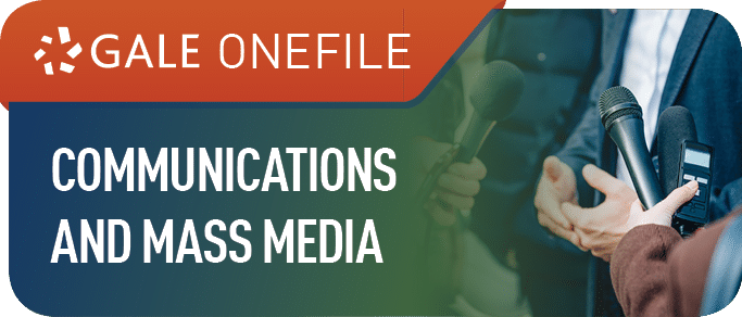 Gale Communications and Mass Media