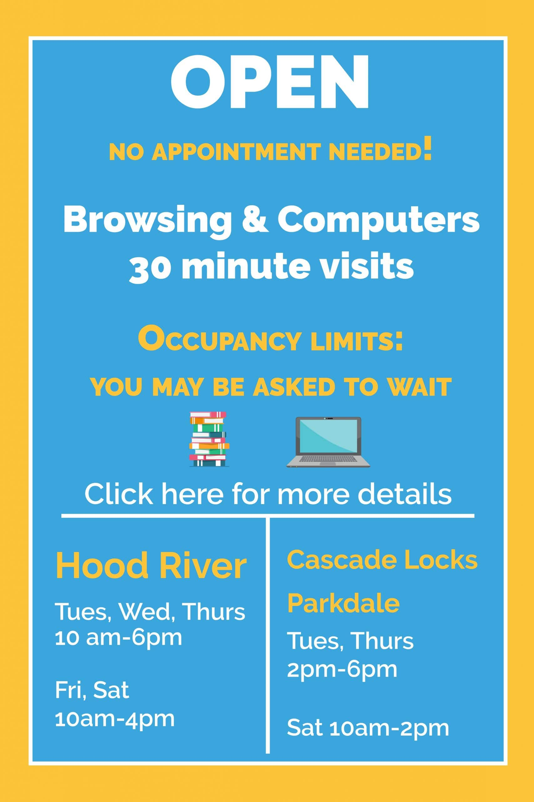 Curbside and Appointments