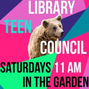 Library Teen Council flyer