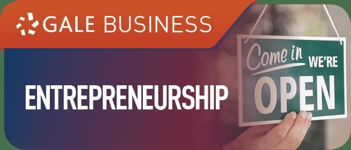 Entrepreneurship Gale Business